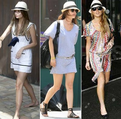 Uma ótima dica de como usar chapéu panamá é prender os cabelos com um coque  baixo. Dá para fazer também um rabo de cavalo. 2732819abbb