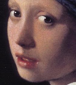 sociedad Desconfianza Sicilia  color y forma 2 ( AULA DE ARTE): La joven de la perla