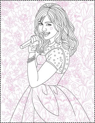 hannah montana coloring pages # 17