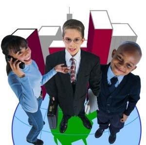 Niños emprendedores del presente