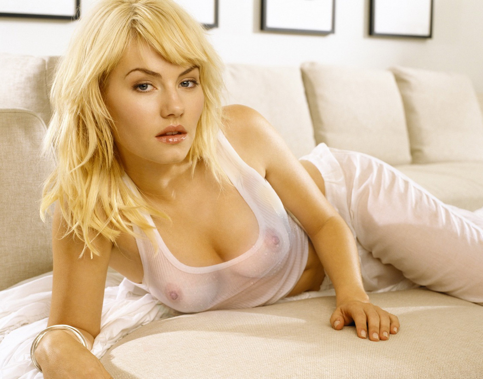 Can Elisha hot babes vagina tits
