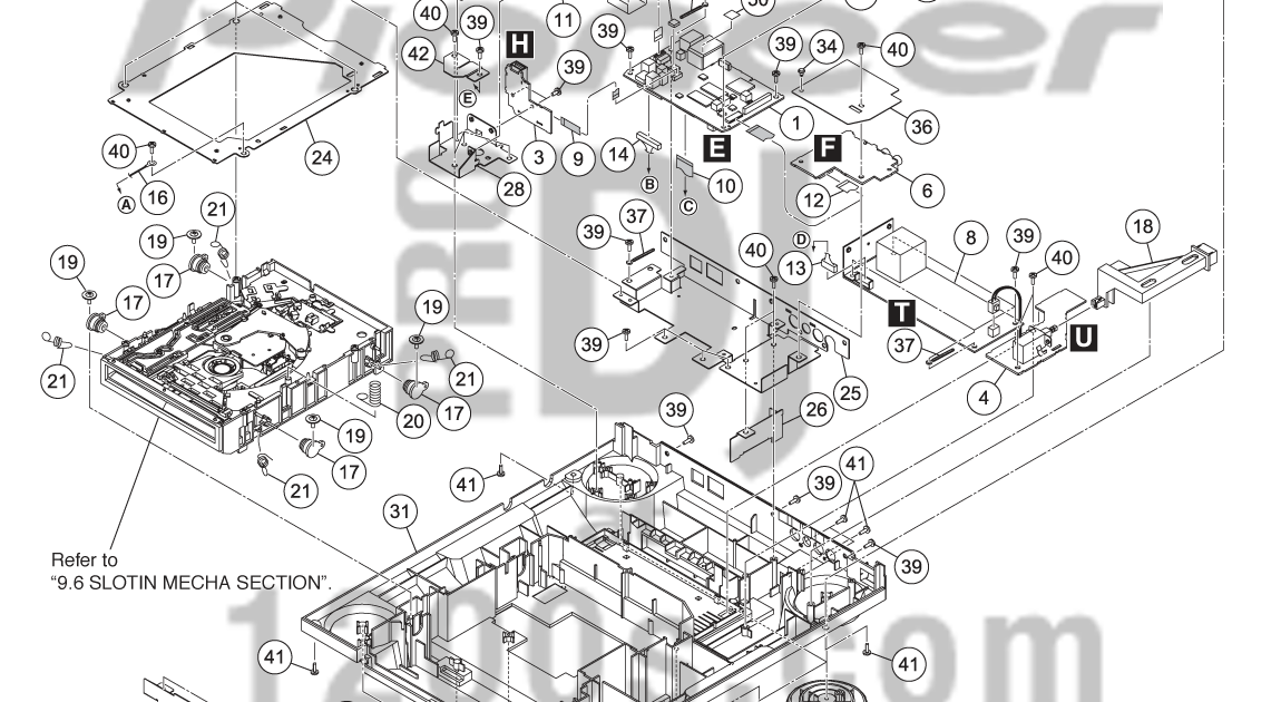 DJ Pro Audio & Service, Repairs: Pioneer CDJ2000 Exploded