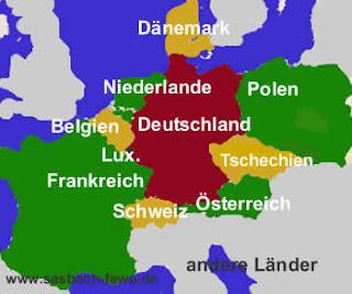 Nachbarländer Deutschland