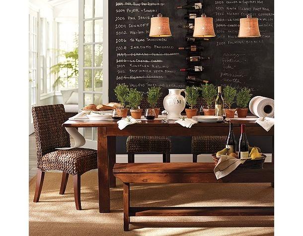 Stockholm vitt interior design dining by pottery barn - Interior designer discount pottery barn ...