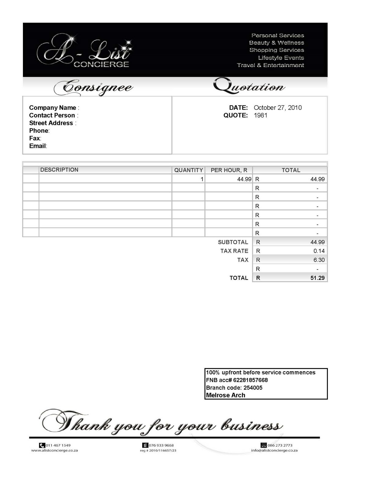 free carpenter invoice template