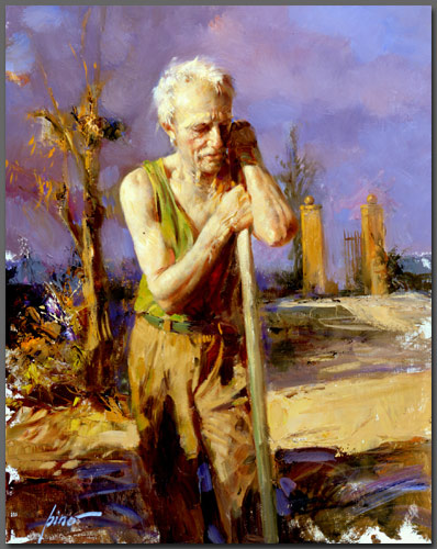 Pino Daeni 1939-2010 | Italian Impressionist painter