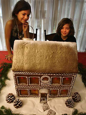 Gluten Free Gingerbread House Recipe Image