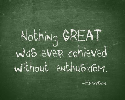 Motivational Wallpaper on Enthusiasm : Nothing  Great was ever achieved