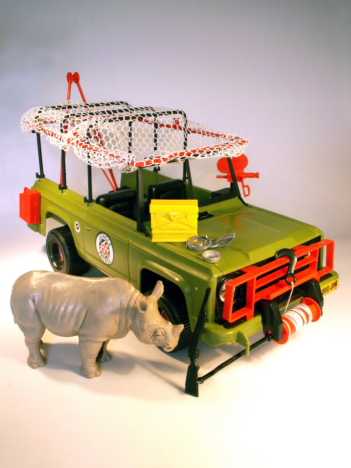 Big Jim Safari Jeep Jungle Patrol Truck Old Childhood Toys
