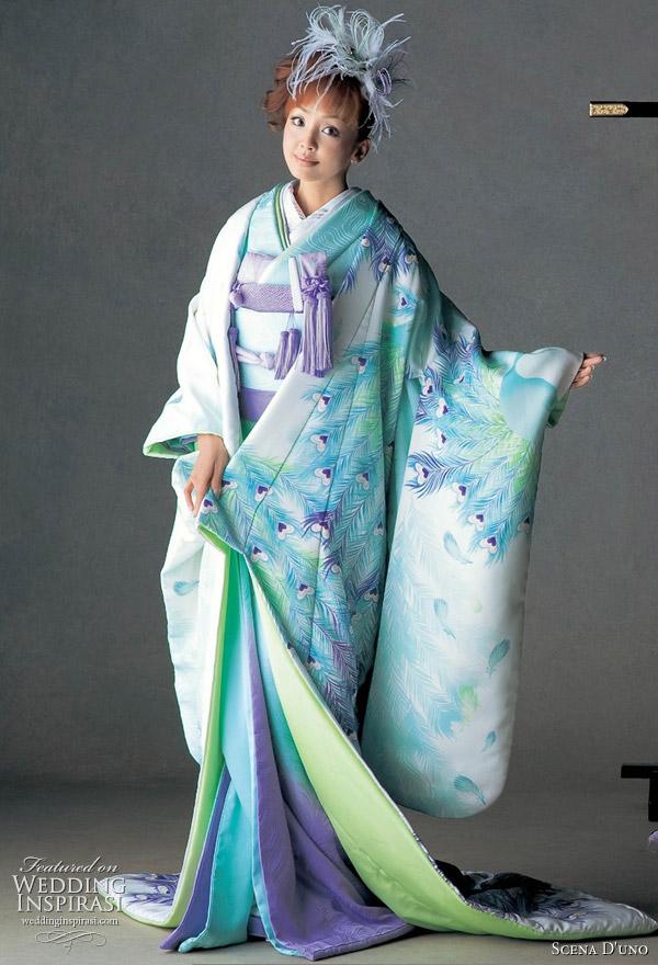 Japanese Wedding Kimono.Colorful Japanese Wedding Kimonos 2010 2011
