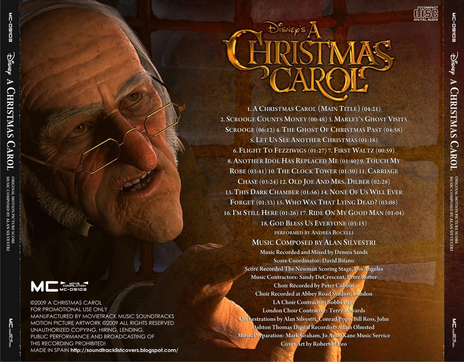 A Christmas Carol Soundtrack.Soundtrack List Covers A Christmas Carol Alan Silvestri