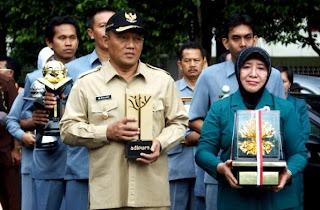 Penyambutan Piala Adipura dan Adiwiyata Kota Probolinggo