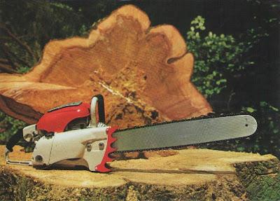 Stihl Contra chainsaw