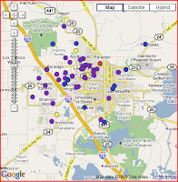Yourgreenquest Gainesville Florida Solar Map