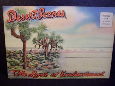 gold country girls: Vintage California Souvenir Postcard Folders