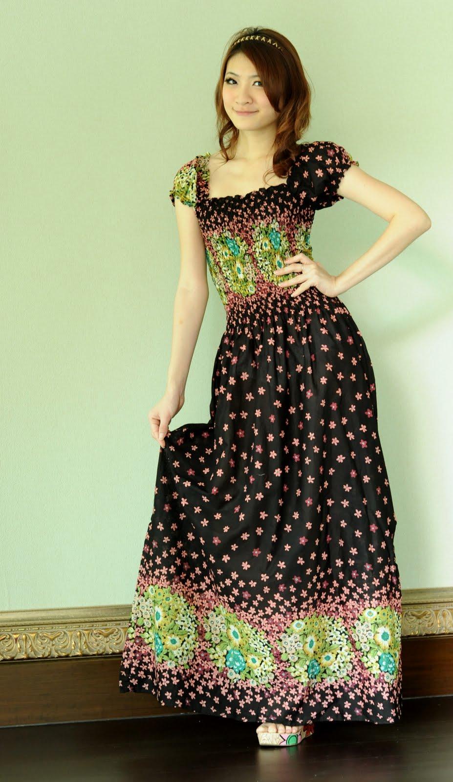Shopaholics Boutique Cotton Maxi Long Dress