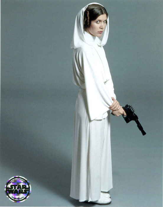 Costumes and Artwork: ANH Leia Senatorial Gown How Old Was Princess Leia In A New Hope