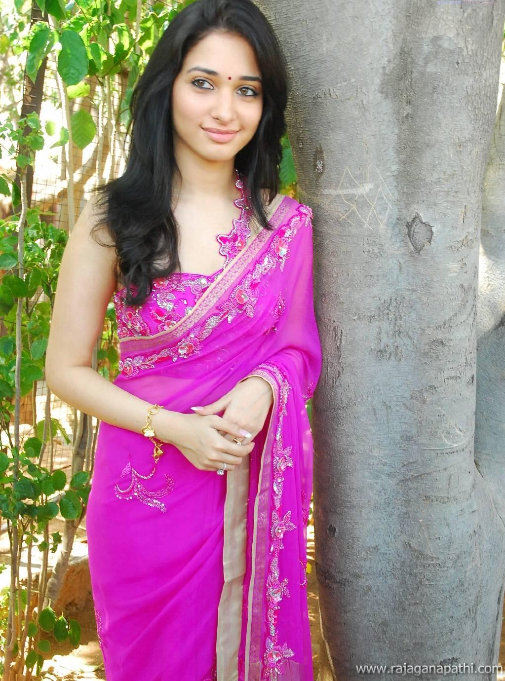 Tamanna Saree Gulte: SOUTH ACTRESS TAMANNA BHATIA IN SAREE HOT LATEST PHOTO