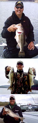 Fishing guide Bryce Archey at Lake Broken Bow in Beaver's Bend State Park Oklahoma sends in this fishing report
