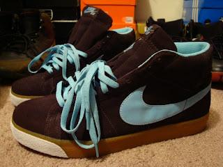 san francisco e807e d29c1 Nike Blazer SB Cappuccino Blue Chill Size 11.5 VNDS  55 Shipped