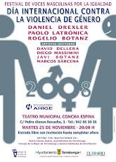 """Dia Internacional contra la Violencia de Género. """"Festival de Voces Masculinas por la Igualdad"""""""