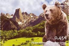 Correos edita sello sobre el Parque Picos de Europa