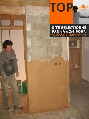 w w w a u t o c o n s t r u c t i o n a t enduit terre sur parpaing. Black Bedroom Furniture Sets. Home Design Ideas