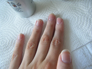 French manicure gel nails at home diy simple u v gel overlay nails at home series french manicure solutioingenieria Gallery