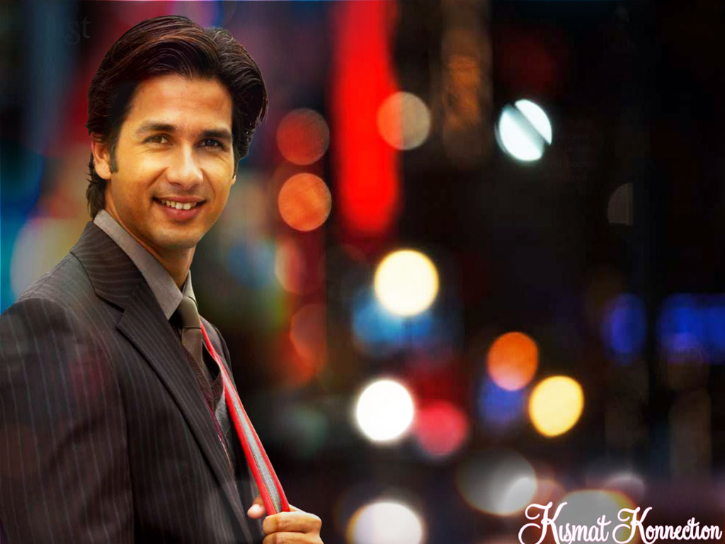 Shahid Kapoor Wallpapers In Kismat Konnection