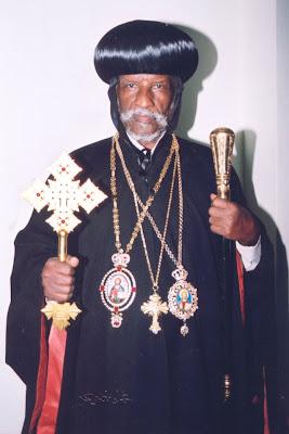 His Holiness Patriarch Abune Antonios of Eritrea