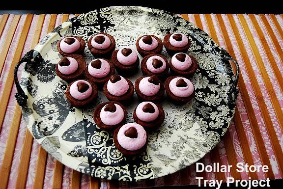 Dollar Store Serving Tray Tutorial Tatertots And Jello