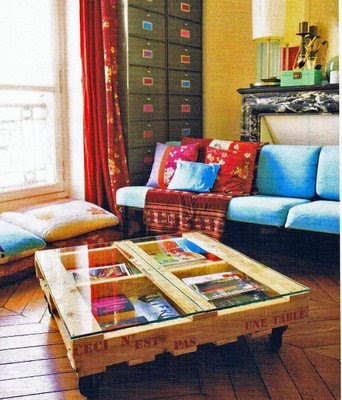 Brainstorm Recycled Pallet Ideas