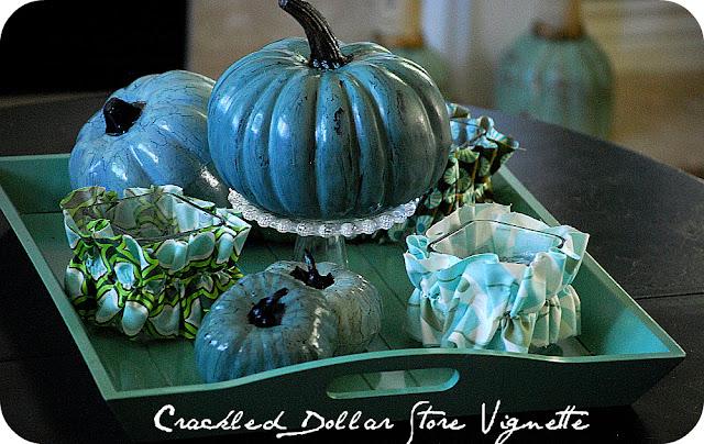 Dollar Store Crackled Pumpkin Tutorial Tatertots And Jello