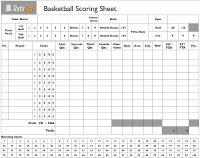 free printable time keeping sheet