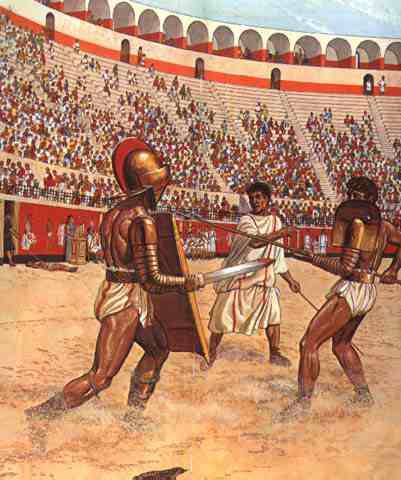 Bloodshed and violence in ancient rome history essay