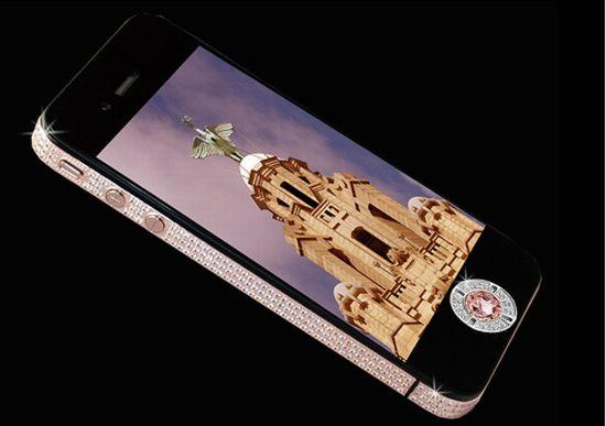 EMM pronounced EdoubleM iPhone 4 Diamond Rose Edition