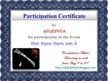 Certificate from Akila