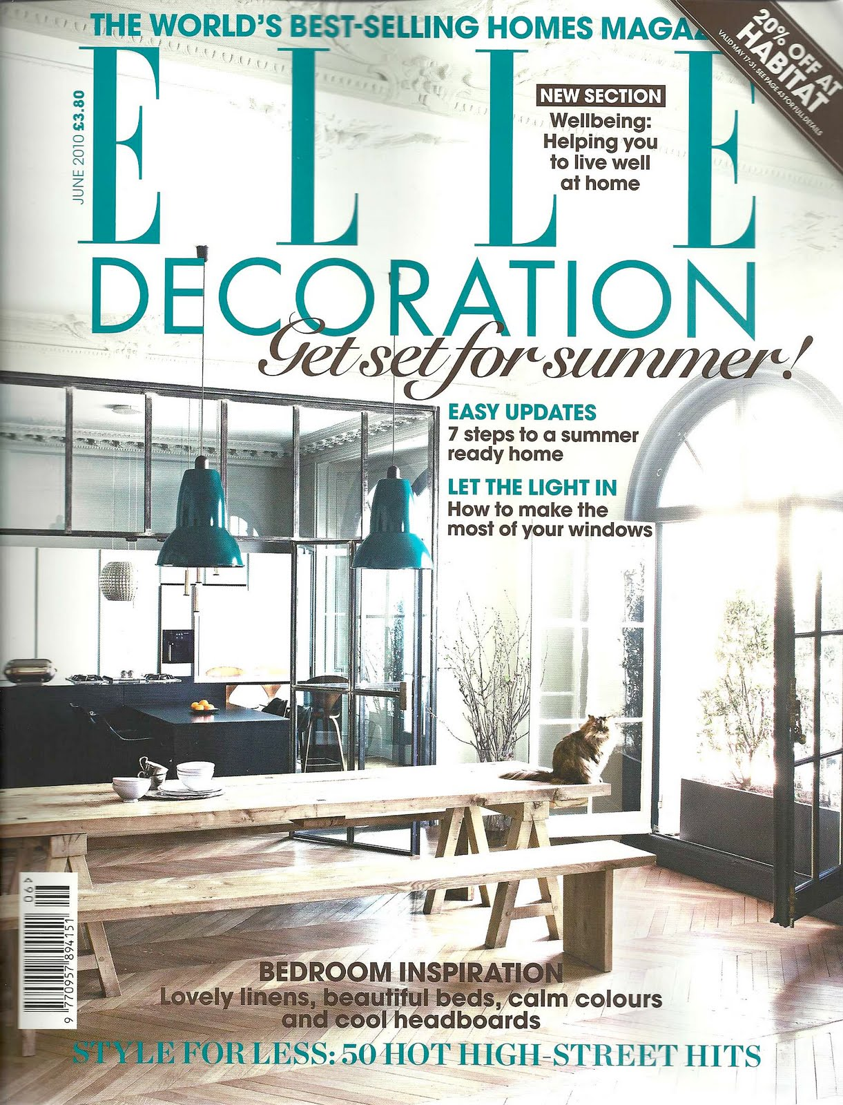 Bright Bazaar Magazine Review Elle Decoration June 2010