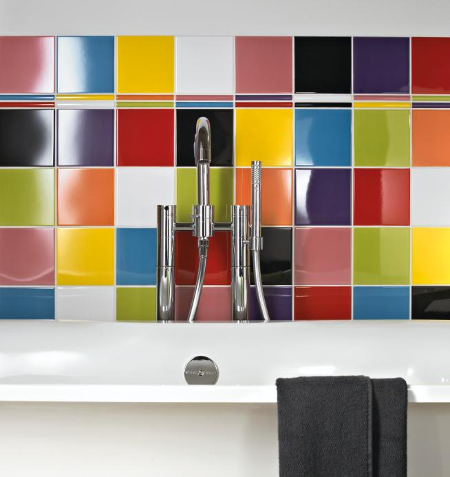 multi coloured kitchen wall tiles fired earth tiles bright bazaar by will 7050