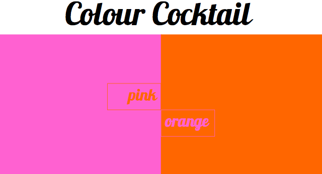 Colour Tail Pink And Orange