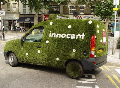 15 Cool Grass Covered Cars (16) 16
