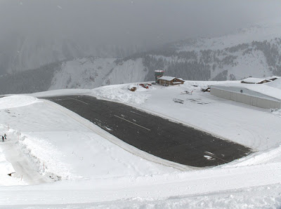 Courchevel Airport - Steepest runway (9) 6