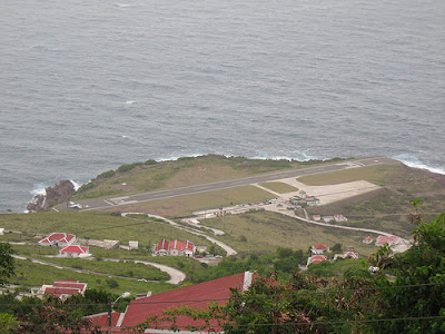 Saba's Yrausquin Airport -World's Shortest Commercial Airport Runway (8) 6