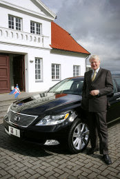 Official State Car r of  President of Iceland