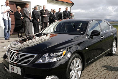 Official State Car of  President of Iceland