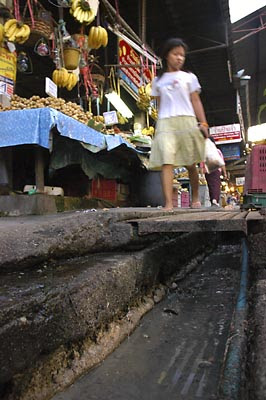 open sewer in  Bangkok 1