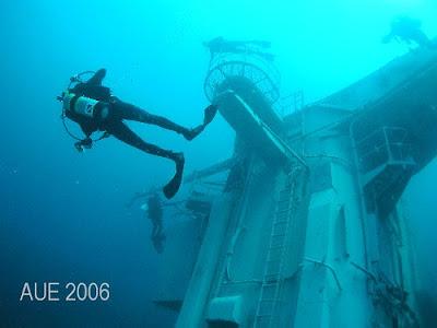 Oriskany becoming a artificial reef (9) 6