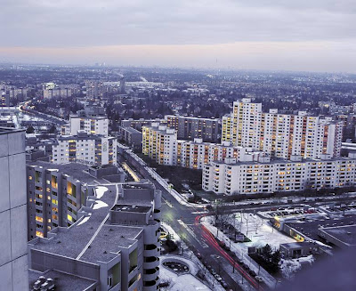 Residential blocks in Berlin