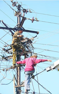 necessary repairs on power lines