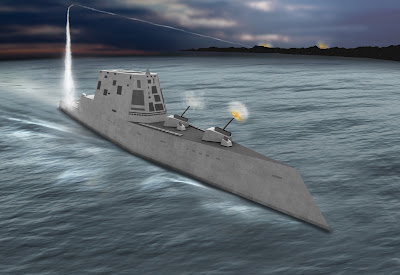 DDG 1000 Stealth ship